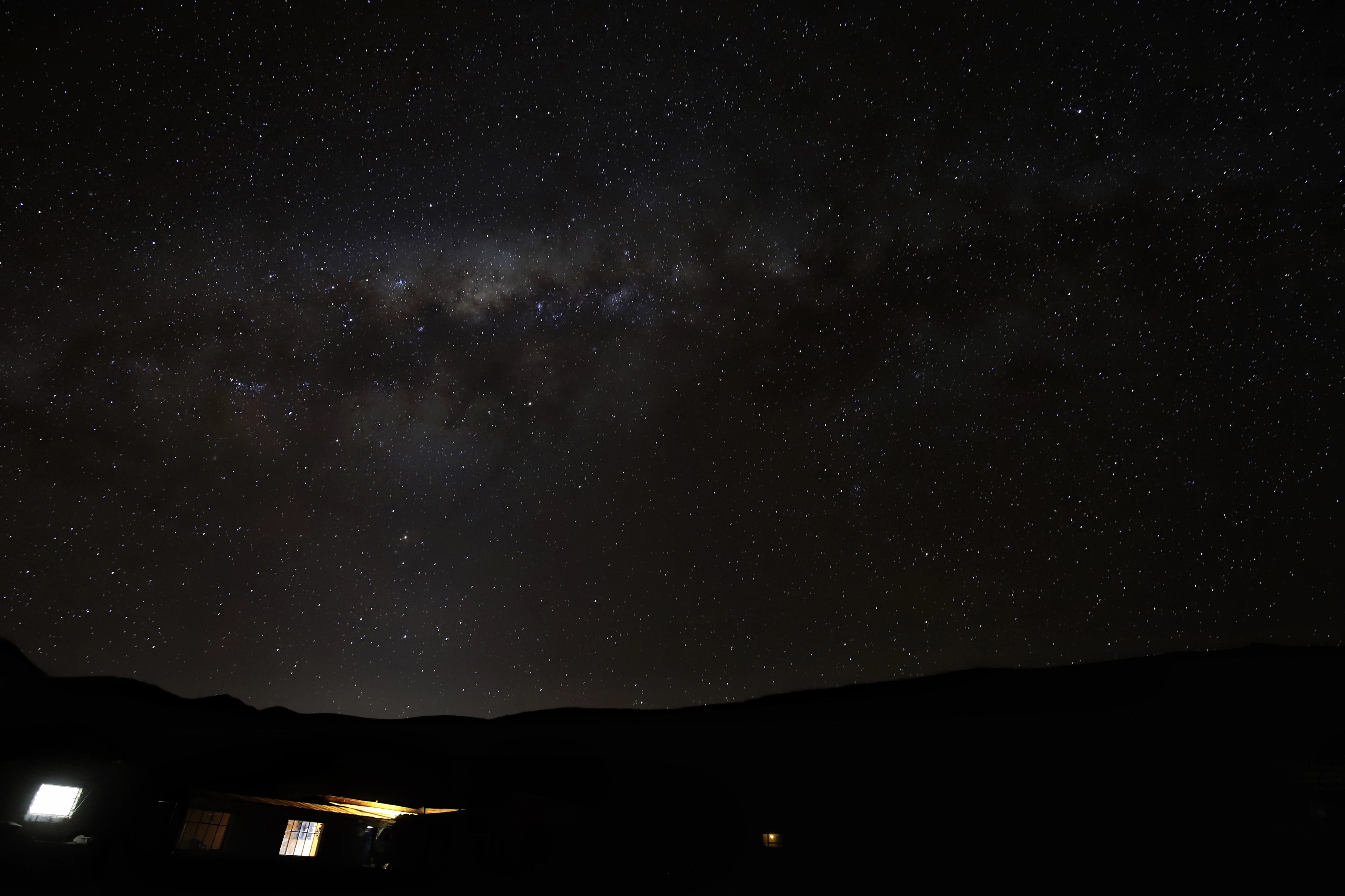 The Milky Way Bolivia, The Wanderlust Bug