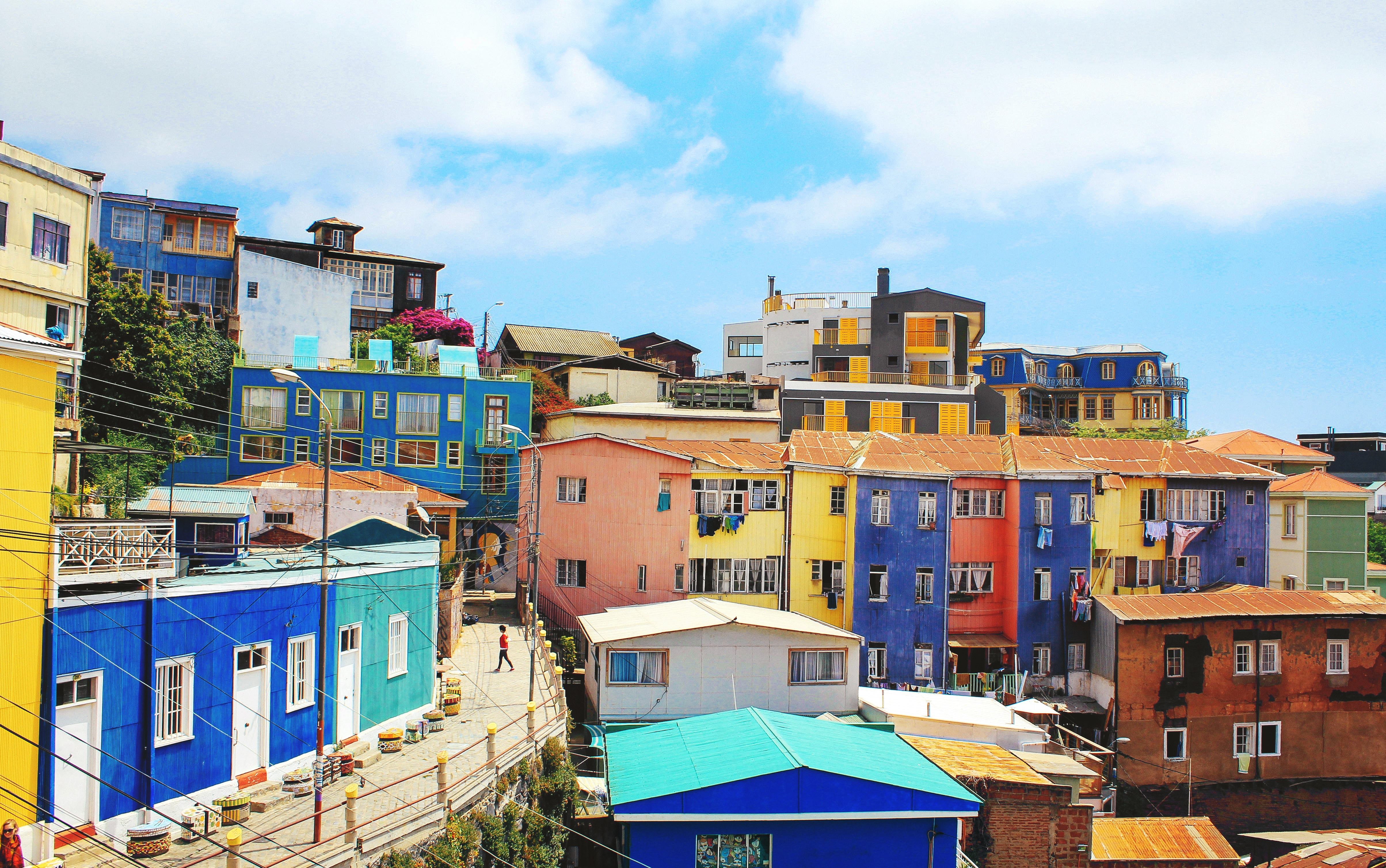 Valparaiso - two weeks in Chile